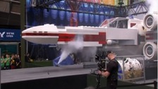 Lifesize Star Wars ship is world's largest LEGO model