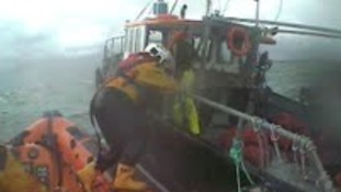 Trawler rescue