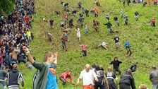 Cheese rolling: police warn cheesemaker