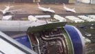 Dramatic video of BA plane making emergency landing