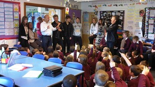 X factor finalist District 3 at Victoria Junior school, Workington.