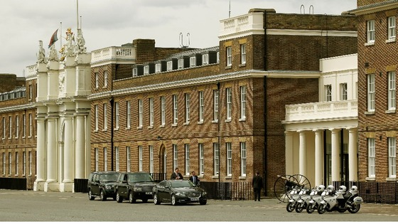 Woolwich Barracks in south-east London