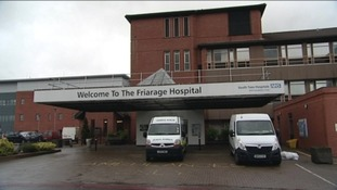 The Friarage Hospital in North Allerton.