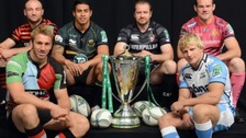 Northampton Saints and Leicester Tigers will battle it out for the Aviva Premiership title