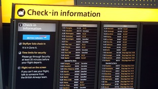 'A number' of flight cancellations will continue throughout the rest of the day.