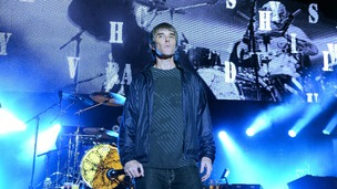 Stone Roses lead singer Ian Brown performs in Brisbane in March this year.