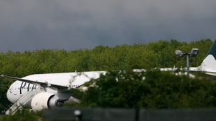 The Pakistan International Airlines flight was diverted to Stansted Airport.