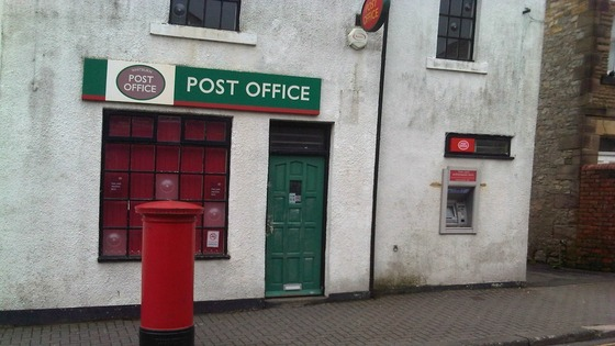 Police are investigating a robbery at Whitburn Post Office.