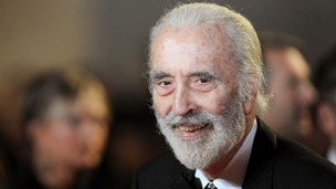 Actor Sir Christopher Lee, due to turn 91 on May 27 on the day he releases his latest metal album.