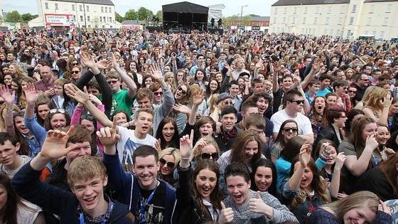 Music fans enjoy BBC Radio 1's Big Weekender in Londonderry
