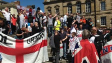 Protests over Woolwich attack in Newcastle