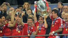 Bayern Munich victory in Champions League final
