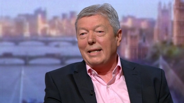 Former Home Secretary Alan Johnson