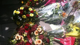 A 'brother' tribute left in Woolwich