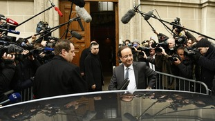 Francois Hollande French election