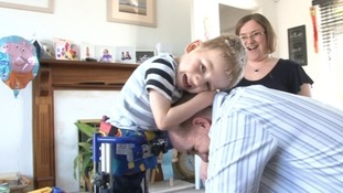 North Devon family hope surgery will help their son walk