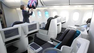 Dreamliner interior