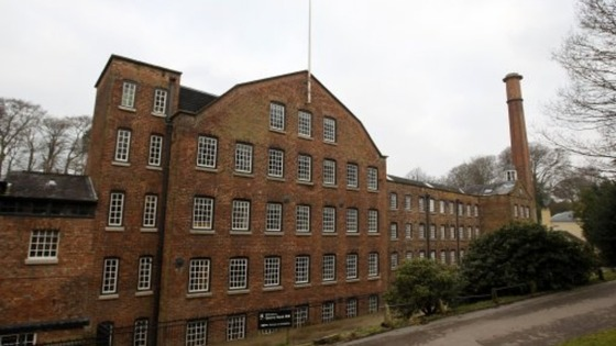 Quarry Bank Mill in Cheshire