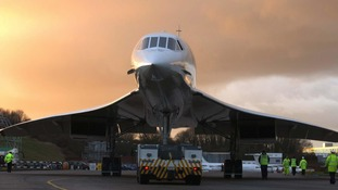 Concorde made its final flight into Filton in 2003.