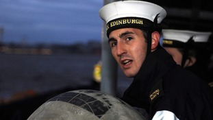 Sailor on HMS Edinburgh