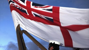 HMS Edinburgh flag