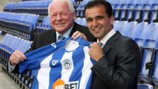 Martinez joined Wigan in 2009.