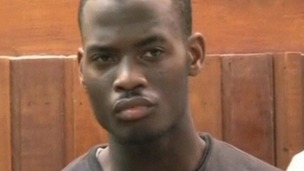 Michael Adebolajo seen in court in Kenya.