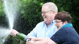 Britain's top lottery winners: Colin and Chris Weir