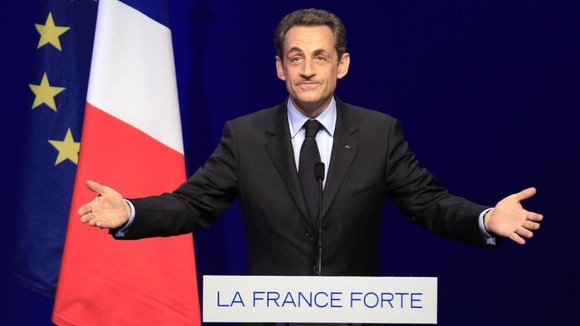 France&#x27;s President Nicolas Sarkozy 