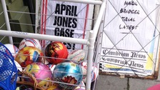 The head-lines will change on the newspaper boards outside the convenience store which will sell beach-balls and toys again.