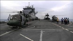 Pilots based at Wattisham took part in operations in Libya