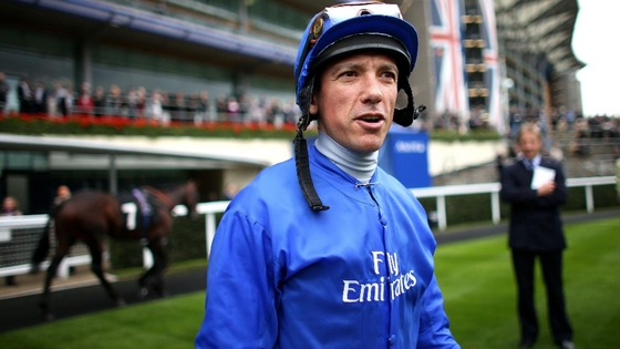 Frankie Dettori has not raced since testing positive for cocaine