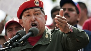 Venezuelan President Hugo Chavez pictured in February 20, 2010.