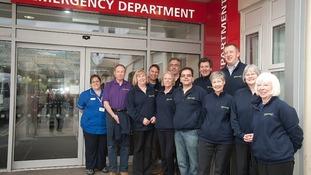 Samaritans support hospitals