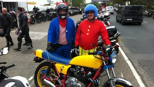 Bikes in fancy dress