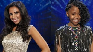 Impressionist Francine Lewis and 11-year-old singer Asanda Jezile have made it through to the grand final of Britain's Got Talent.