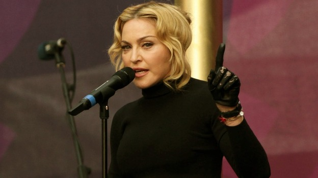 The original Material Girl, Madonna.