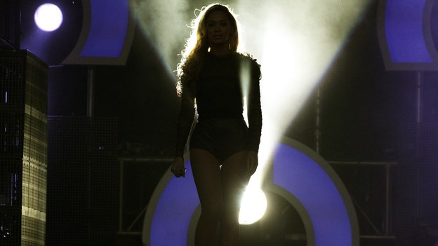 Beyonce steps out into the limelight at The Sound of Change concert.