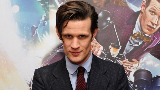 Matt Smith has played Doctor Who since 2010.