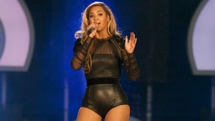 Beyonce performs live during the Sound for Change concert