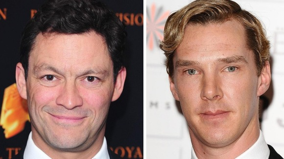 Dominic West and Benedict Cumberbatch