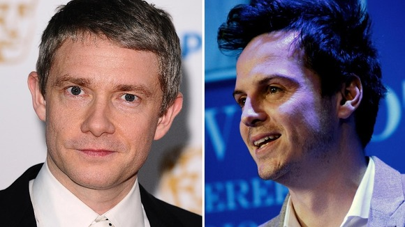 Martin Freeman and Andrew Scott