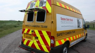 New speed camera van