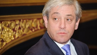 Speaker of the House of Commons John Bercow.