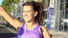 Claire Squires London Marathon
