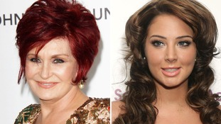 Sharon Osbourne (left), who will return to The X Factor judging panel to replace Tulisa Contostavlos (right)