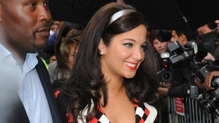 Tulisa Contostavlos at the launch of her new perfume TFB by Tulisa