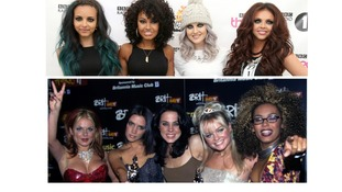 Little Mix on top as they beat the Spice Girls by reaching the US top-5 with their debut album.