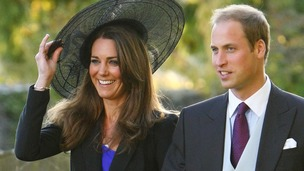 Kate Middleton pictured with Prince William in 2010 when Paul Flatley checked security arrangements in expectation of their engagement.