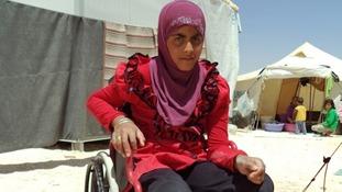 Eman Atallah, from Daraa.